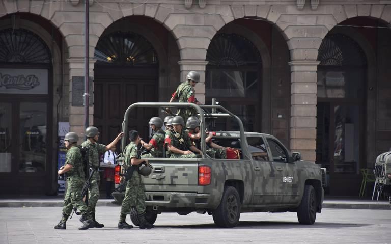 SLP, sin militares desaparecidos