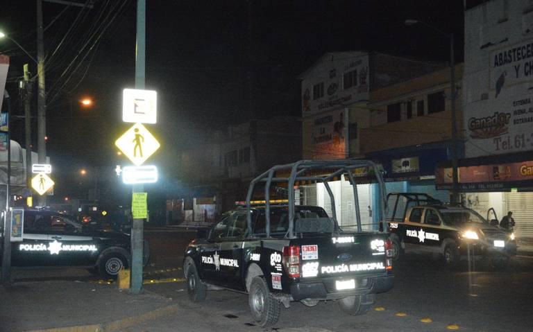 Asesinan a tres policías en Guanajuato