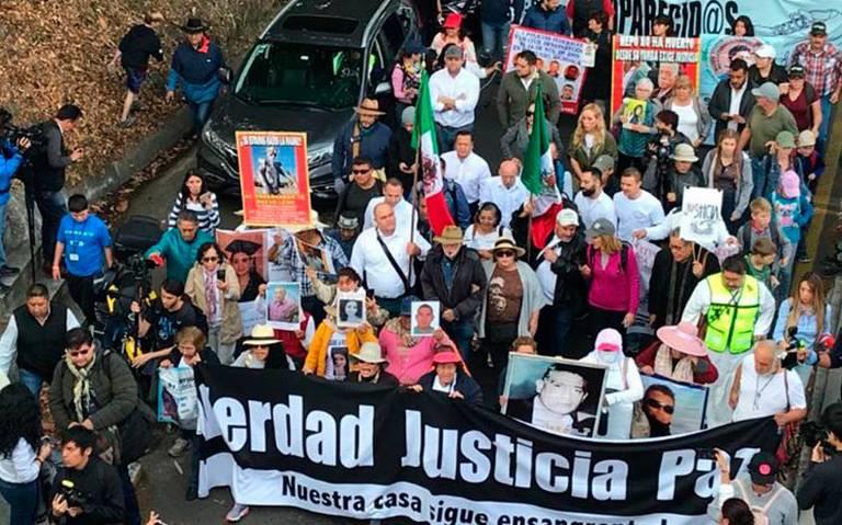 Inicia la Caminata por la Paz con llamado de Sicilia y LeBarón a la unidad nacional