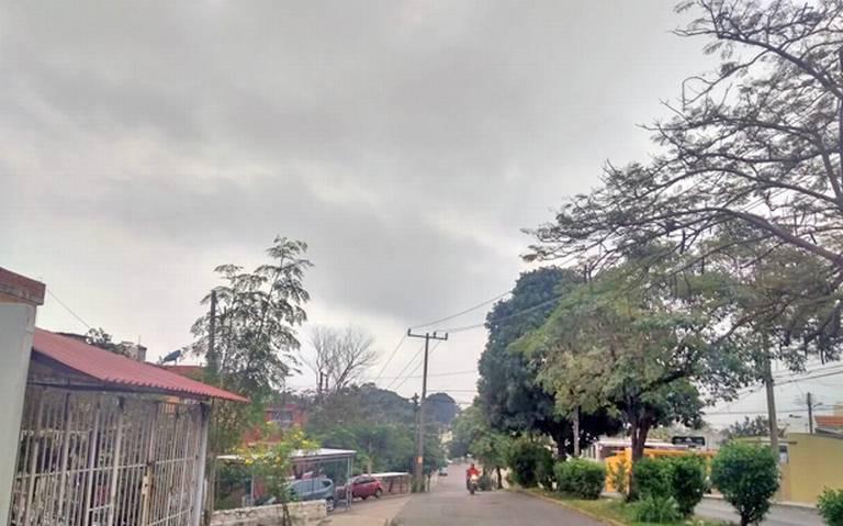 Lluvias fuertes para hoy en la Chontalpa