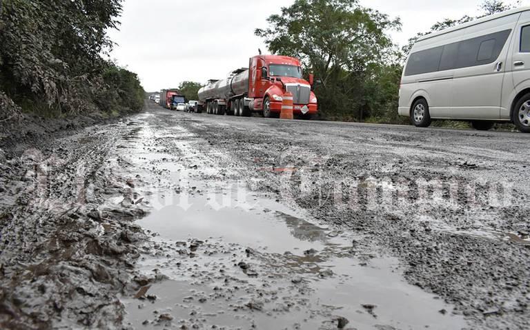 #Especial | En el abandono carreteras del norte de Veracruz