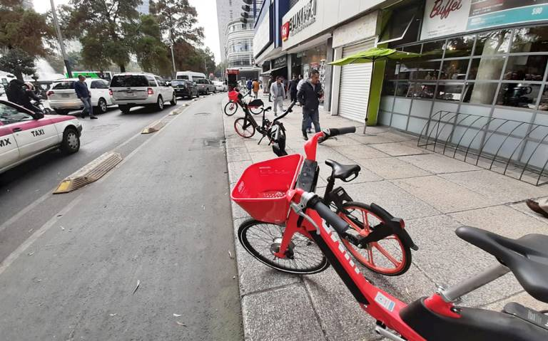 Capitalinos usan poco puntos de arribo para bicis