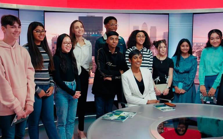Angelina Jolie y BBC ayudarán a los niños cómo detectar las fake news