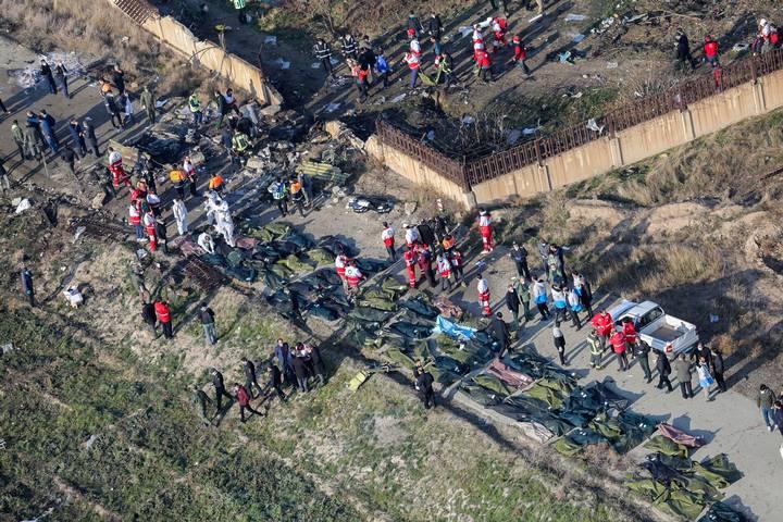"""Ucrania pide a ONU """"apoyo incondicional"""" en investigación sobre avión que cayó en Irán"""