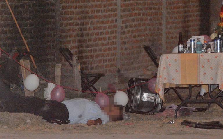 Llueve plomo durante fiesta de cumpleaños en Celaya; hay dos muertos