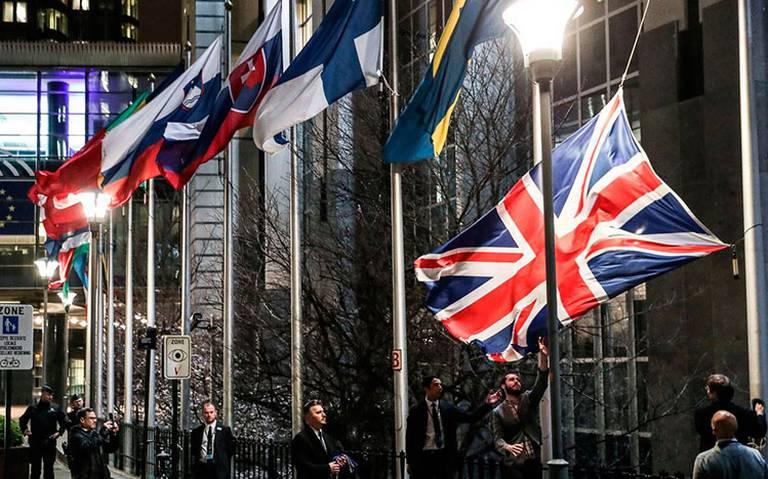 La Unión Europea retira la bandera del Reino Unido