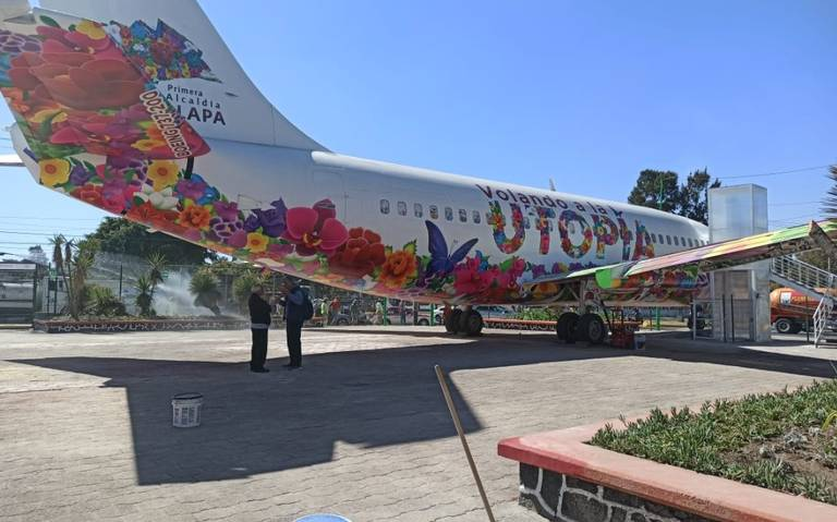 ¡Todos a bordo! Conoce el primer Biblio-Avión en Iztapalapa