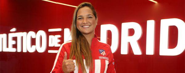 Deyna Castellanos, nueva jugadora del Atlético de Madrid