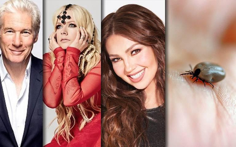 Thalía, Avril Lavigne y otros famosos que padecen la enfermedad de Lyme