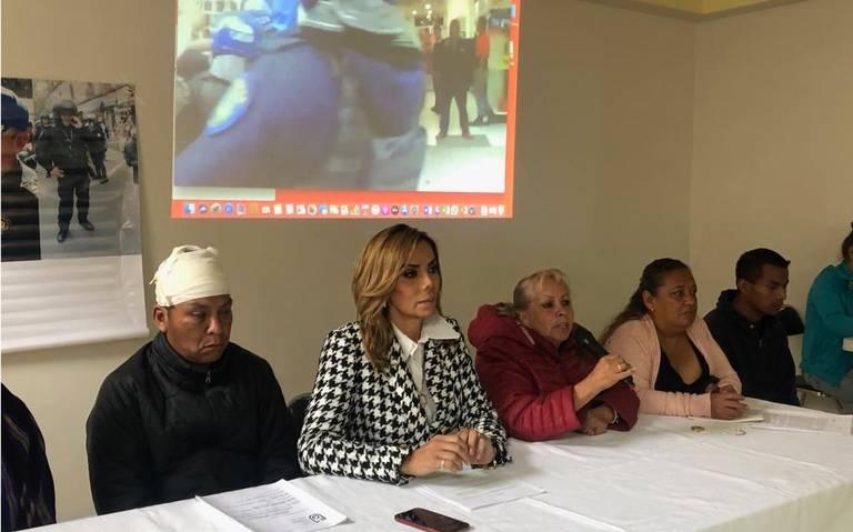 """Comerciantes ambulantes realizarán performance """"El golpeador eres tú"""" en el Zócalo"""