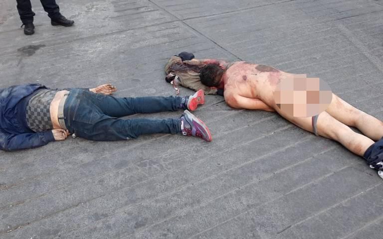 Hallan dos cuerpos del sexo masculino en Álvaro Obregón
