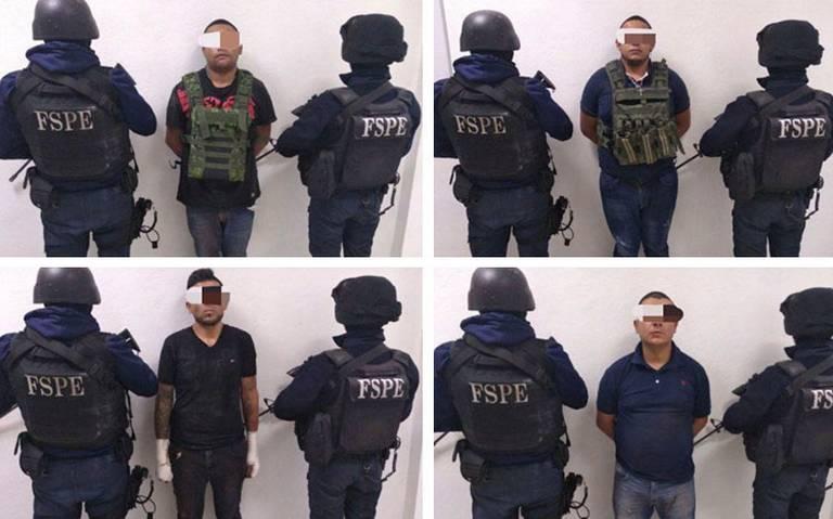 """Detienen a célula criminal de """"Grupo Élite"""" en Salamanca"""
