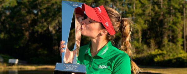 Gaby López triunfó en el Torneo de Campeonas de la LPGA