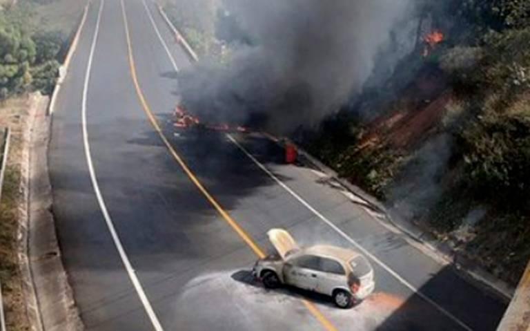 Se desata violencia en Uruapan tras captura de El Vocho, líder de Los Viagra