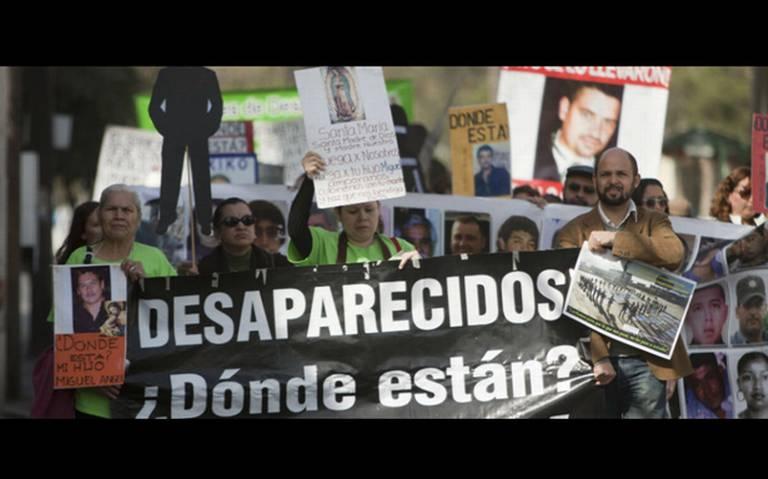 No cesan desapariciones a dos años de la entrada en vigor de la ley general de desaparición: ONG