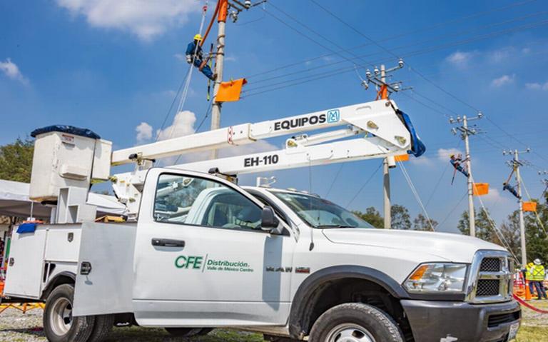 CFE defiende arrendamiento; se acabaron camionetas blindadas para los jefes y consentidos