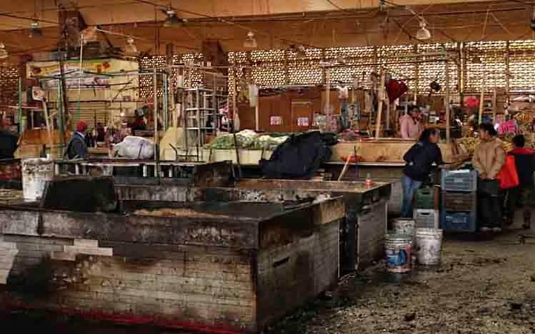 Bomberos sortean sorpresas para combatir incendios en mercados