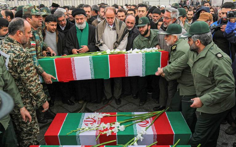 Exigen indemnizar a víctimas de avionazo en Irán
