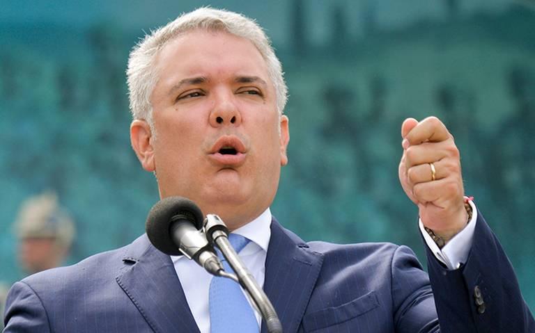 Iván Duque reconoce amenaza de cárteles mexicanos en Colombia
