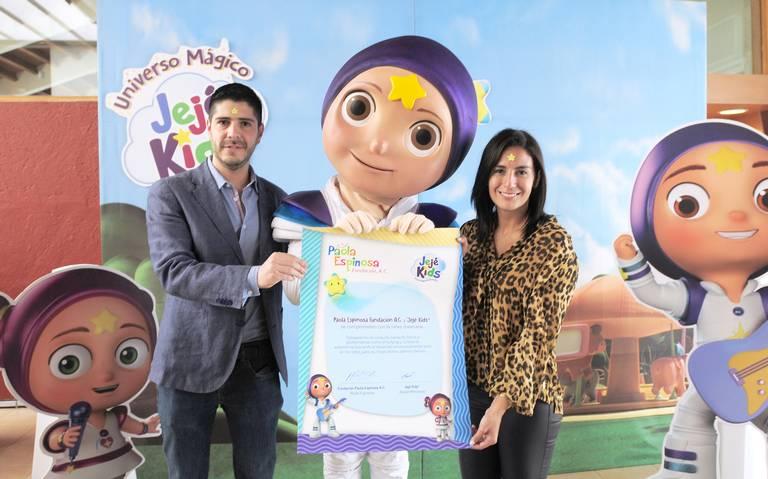 Paola Espinosa firma alianza con Jejé Kids a favor de la niñez mexicana