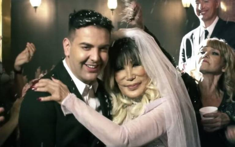 Lyn May se casó con su novio 30 años menor