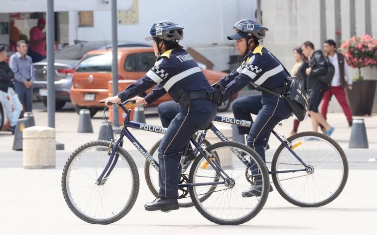 Se empolvan más de mil 200 bicis para vigilar la CDMX