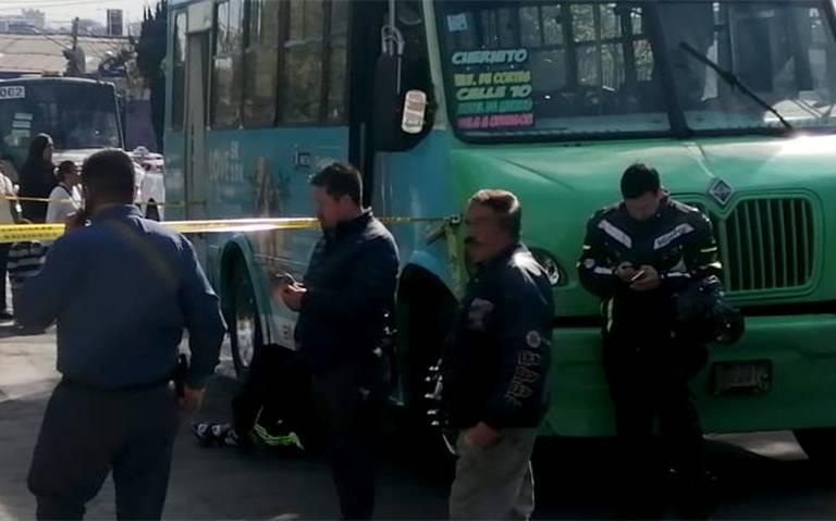 Muere una mujer arrollada por transporte público en la A. Obregón