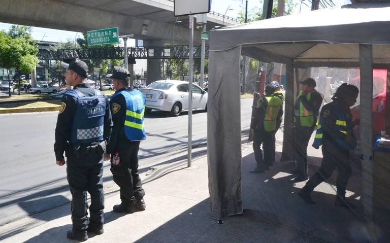 Policías en Periférico inhiben a ladrones