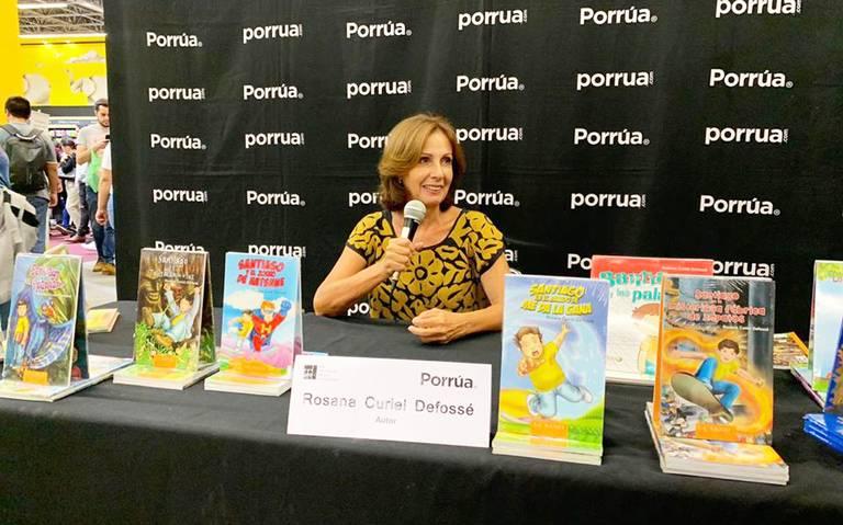Rosana Curiel Defossé: La compañía de un libro resulta única