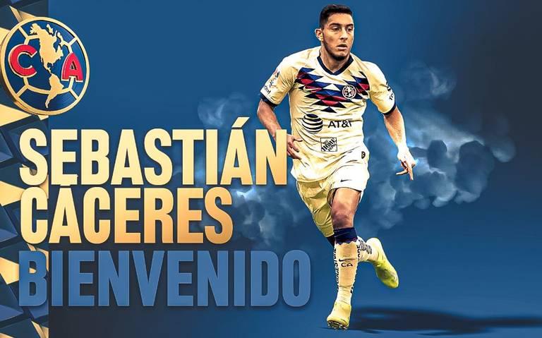 América hace oficial la llegada de Sebastián Cáceres