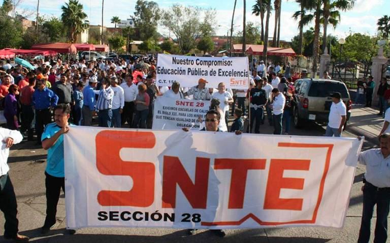 SNTE admite que hay maestros en Grupo Social Promotor de México