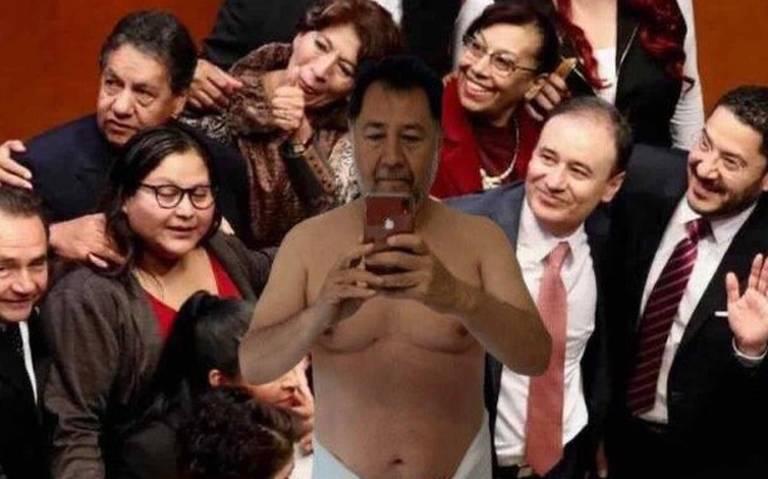 Fernández Noroña desata ola de memes con su #NoroñaChallenge