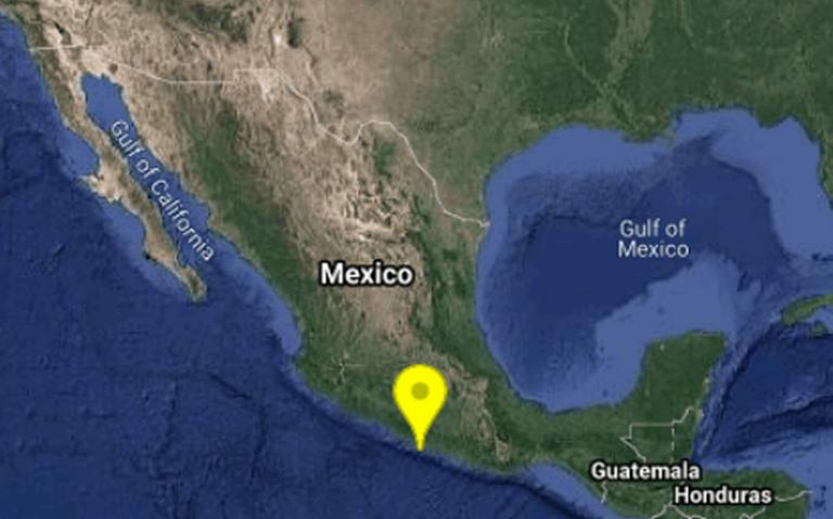 Temblor de 5.1 grados se registra en zona costera de Guerrero