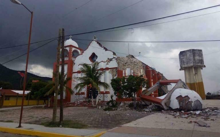 Gobierno federal renegocia seguros de iglesias tras sismos