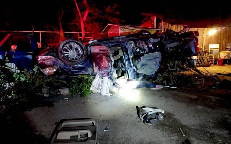 Sangriento accidente deja 4 muertos y 2 heridos en Zapotiltic, Jalisco