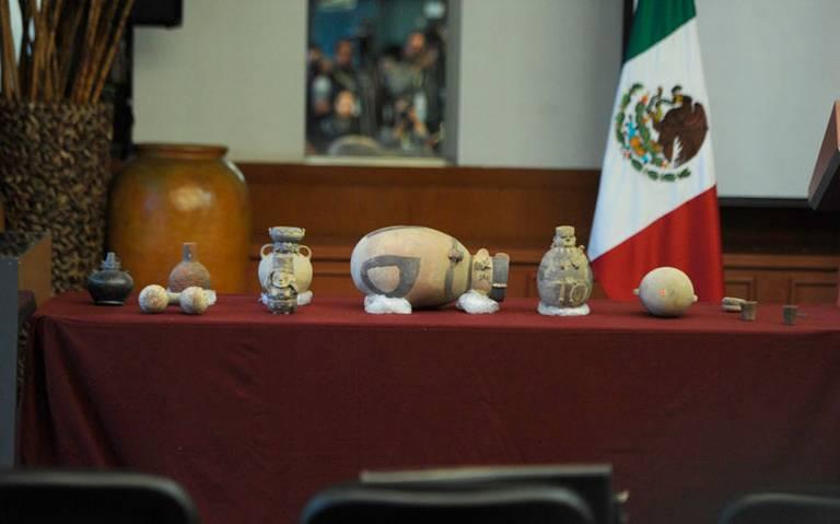 México devuelve a Perú piezas prehispánicas