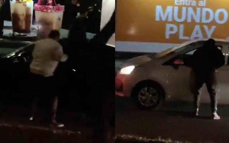 [Video] Por partida doble: delincuentes asaltan a automovilistas cerca de Perisur