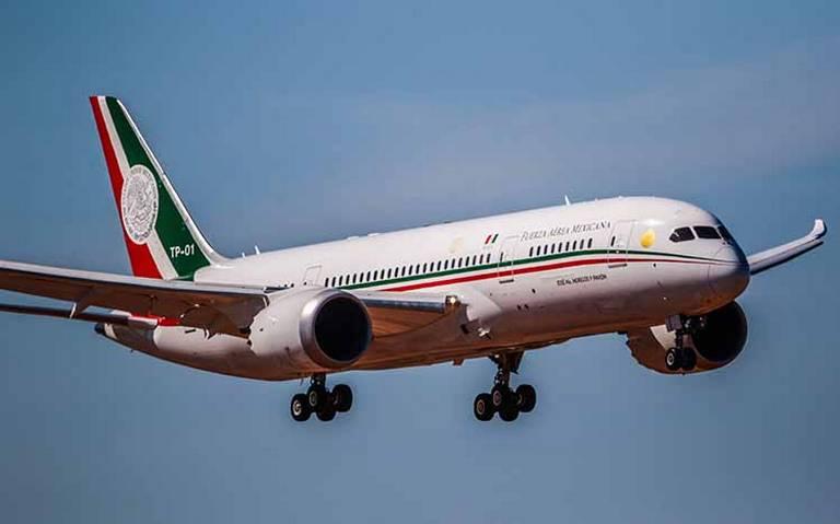 Sí se puede vender el avión presidencial, confirma AMLO