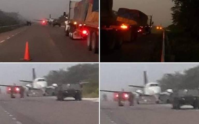 Aterrizaje de avioneta con droga en Quintana Roo provoca enfrentamiento