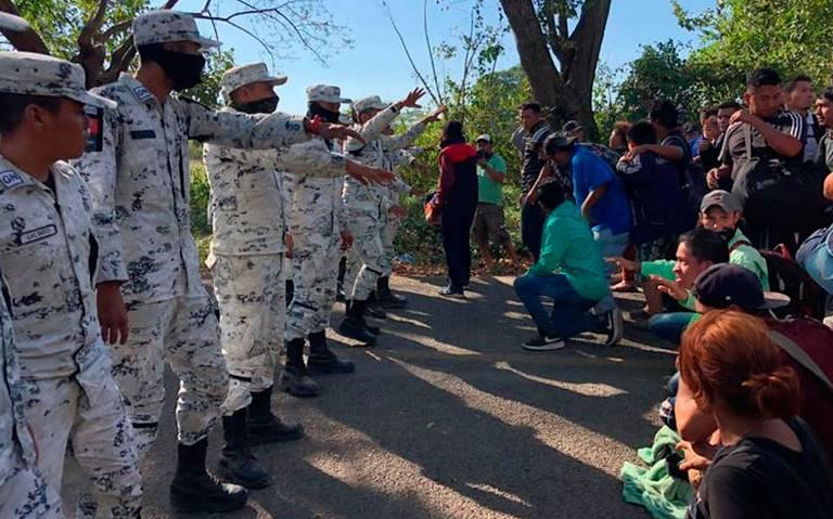 AMLO asegura que no hay reporte de migrantes lesionados por GN