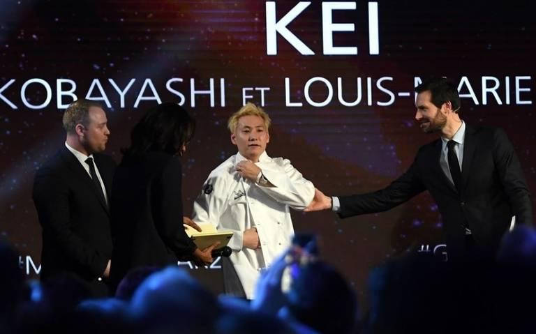 El chef Kei Kobayashi, primer japonés en obtener tres estrellas Michelin