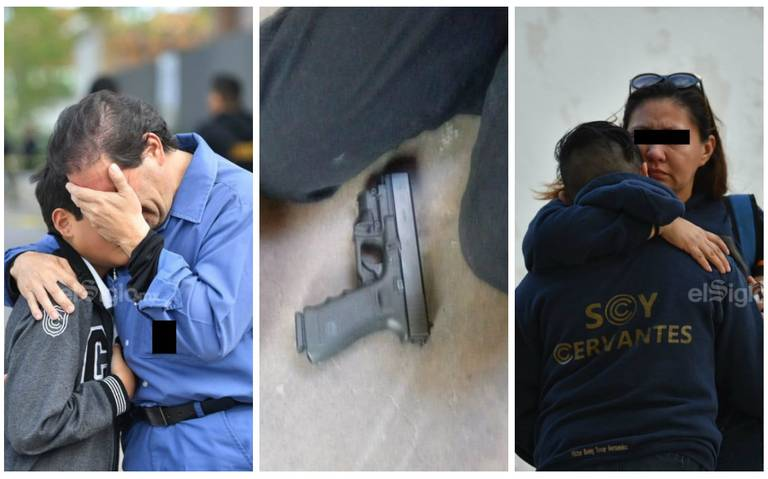 Fiscalía de Coahuila confirma que armas de niño tirador eran de su abuelo