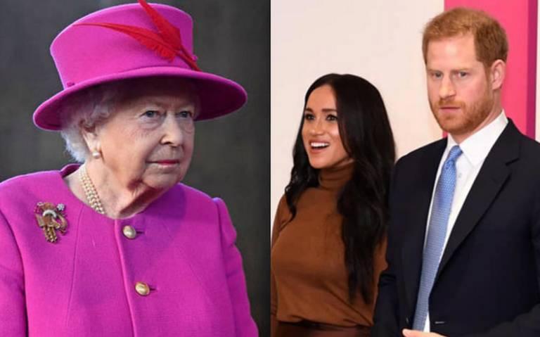 Reina Isabel convoca a reunión familiar para abordar futuro de Harry y Meghan