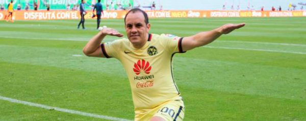América felicita a Cuauhtémoc Blanco con espectacular video