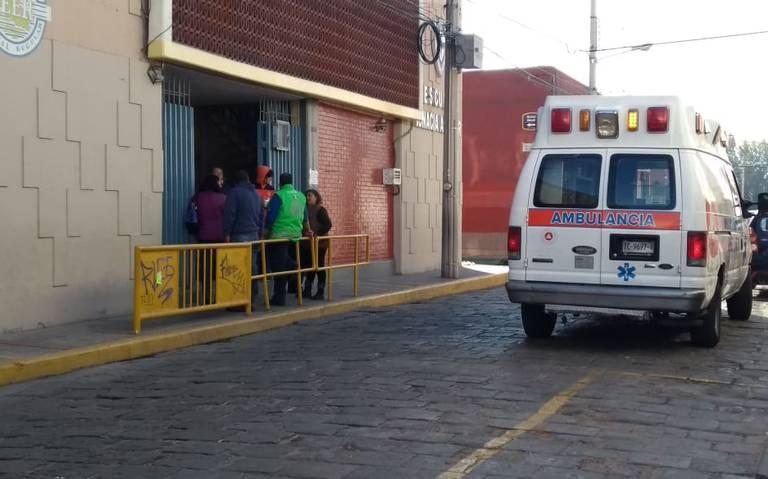 [Video] Por fuga de gas desalojan escuela y suspenden clases