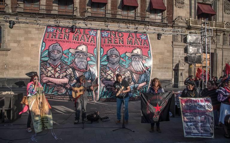 Construcción del Tren Maya no afectará a indígenas, reitera AMLO