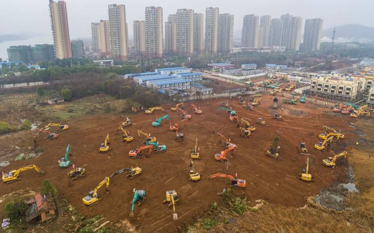 En sólo 10 días, China construirá hospital para atender casos de coronavirus