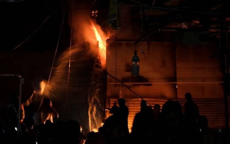 Cortos circuitos originaron los incendios en mercados de la CDMX: FGJ