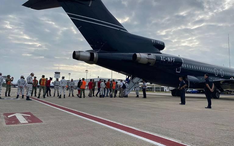 INM inicia deportación de migrantes hondureños