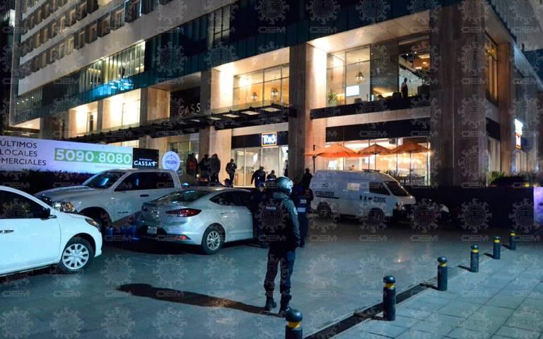 Balacera en edificio Latitud Polanco deja al menos tres muertos